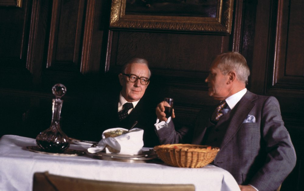 Alec Guinness as George Smiley in the BBC's 1975 serialisation of Tinker, Tailor, Soldier, Spy