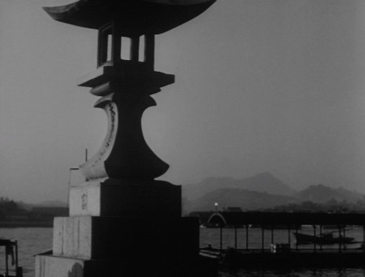 Often considered Ozu's masterpiece, Tokyo Story is a poignant look at ageing parents' estrangement from their adult children. This shot follows the couple's unspoken realisation that the coastal vacation arranged by their kids is largely to avoid taking care of them