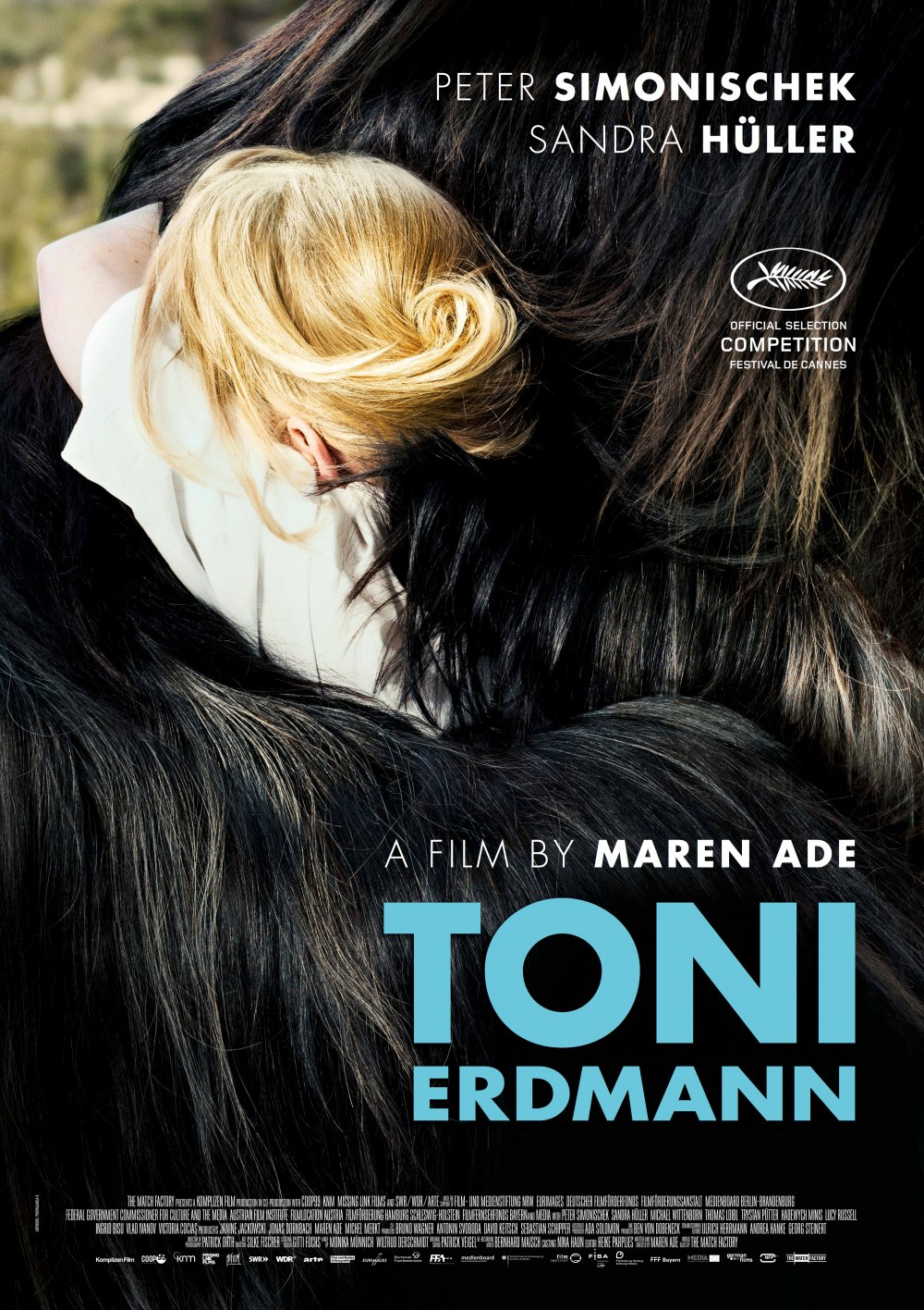 The Cannes festival poster for Toni Erdmann (2016)