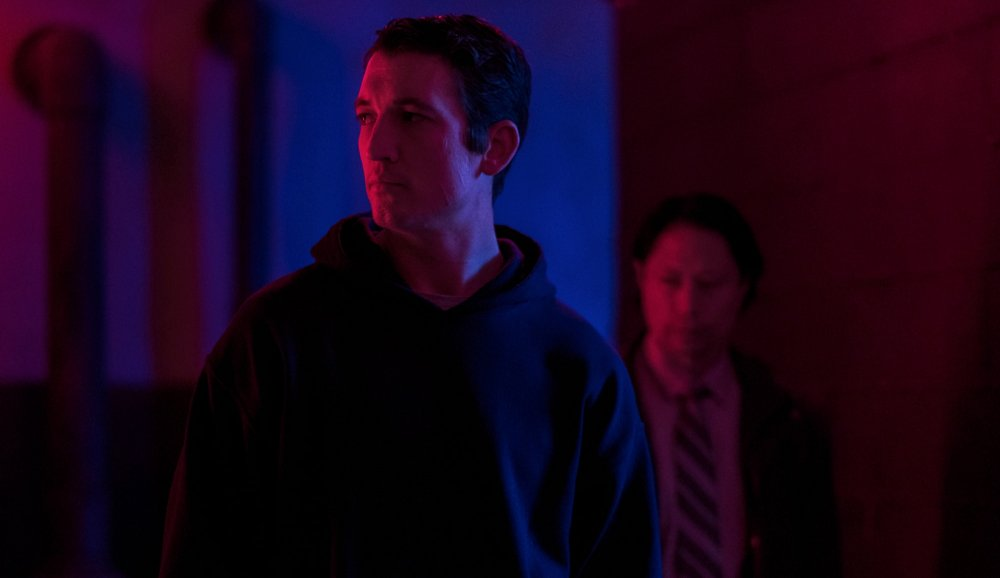Miles Teller as Martin in Too Old to Die Young: North of Hollywood, West of Hell