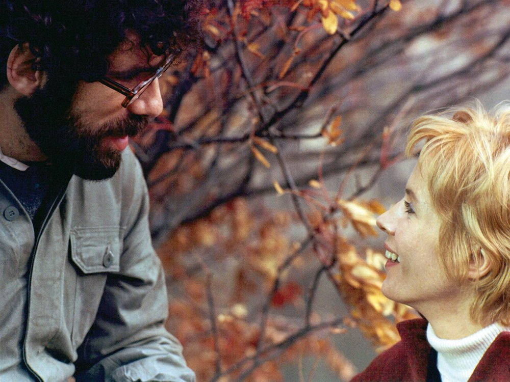 Elliott Gould and Bibi Andersson in Ingmar Bergman's The Touch