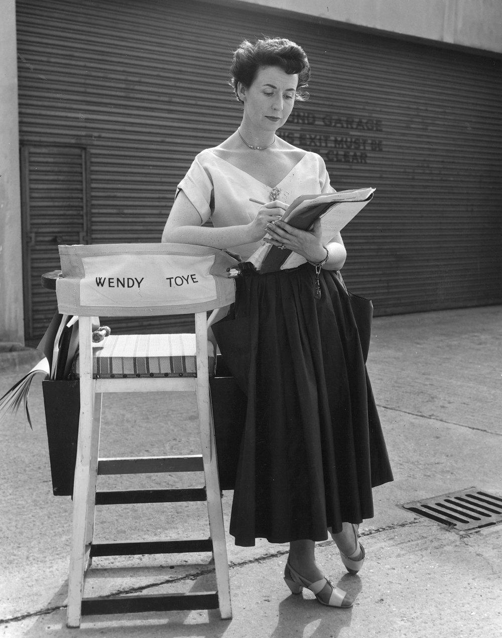 British dancer, actress, theatre and film director Wendy Toye
