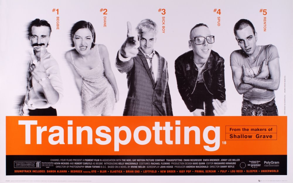 Trainspotting (1996) poster