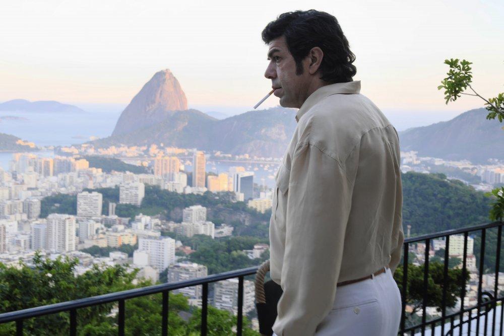 Pierfrancesco Favino as Tommaso Buscetta in The Traitor (Il traditore)