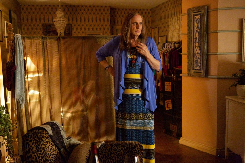 Jeffrey Tambor as Maura Pfefferman, the transgendered protagonist of Jill Soloway's hit comedy series Transparent.