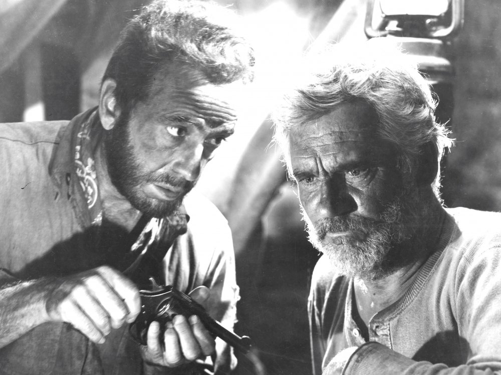 Bogart and Walter Huston in The Treasure of the Sierra Madre (1948)