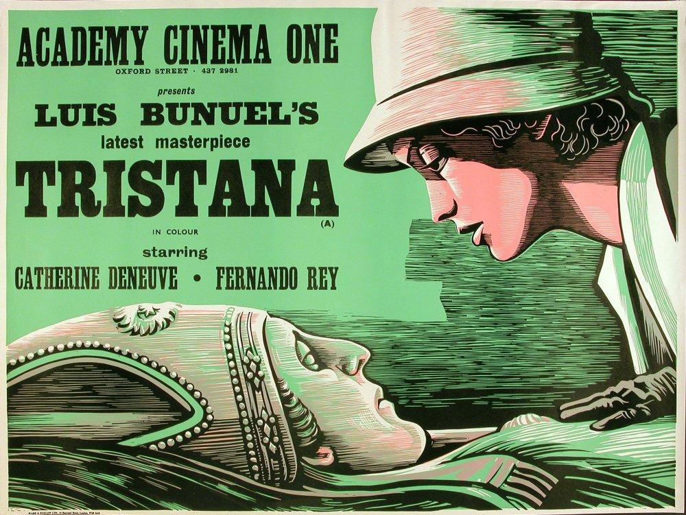 Academy Cinema poster for Tristana (1970)