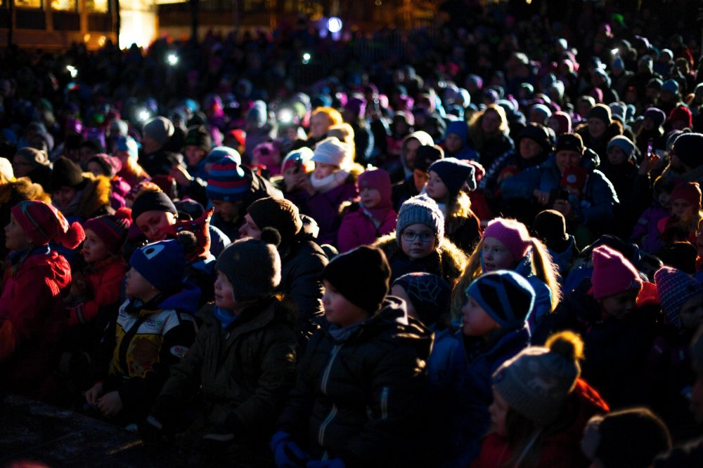 Tromsø's outdoor family screening