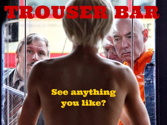 Trouser Bar poster