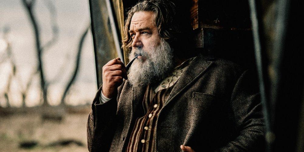Russell Crowe as bushranger Harry Power