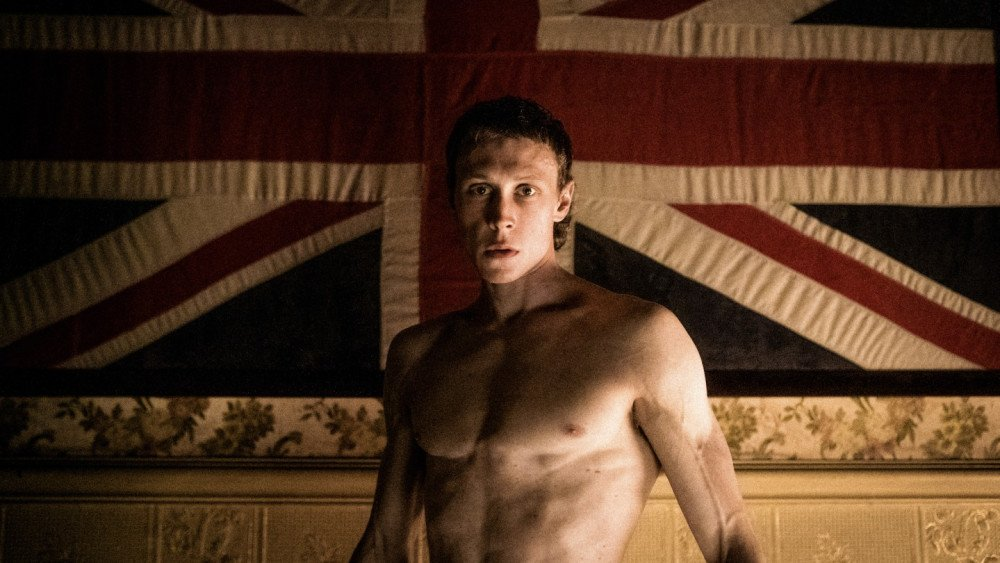 George MacKay as Ned Kelly in The True History of the Kelly Gang