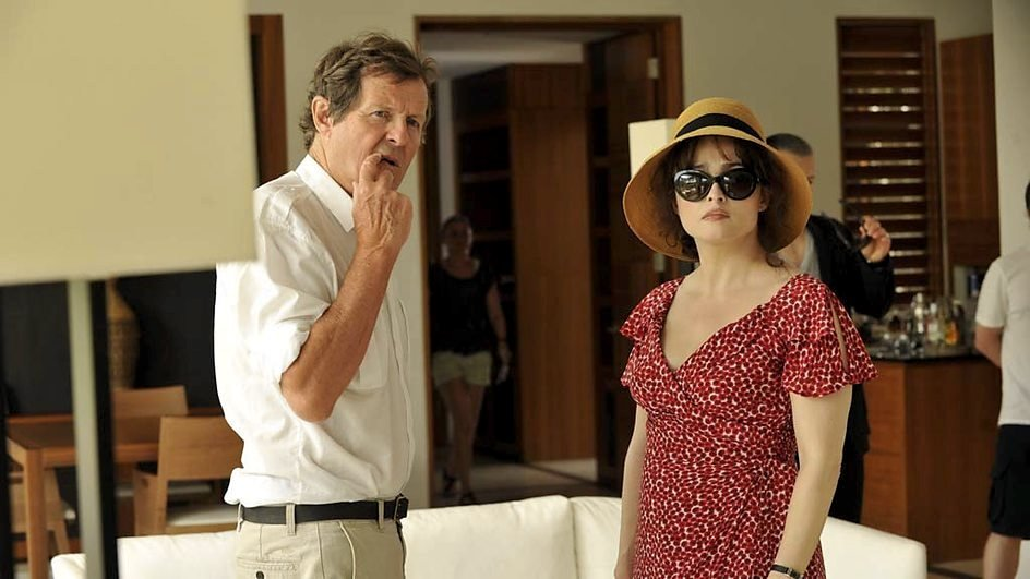 "Directing Helena Bonham Carter for Turks <span class=""amp"">&</span> Caicos"