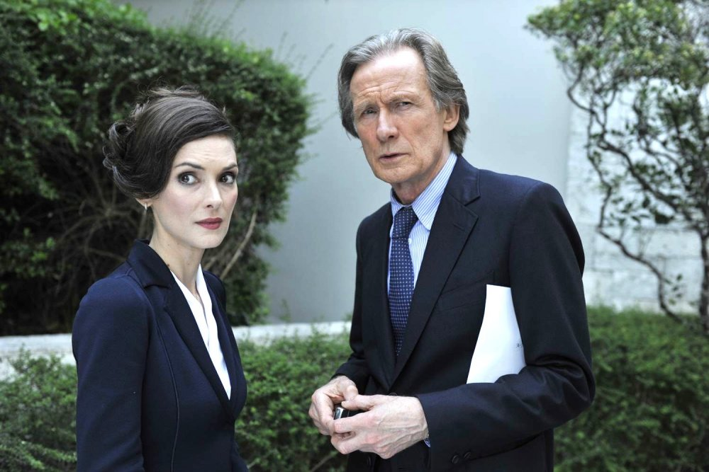 Winona Ryder and Bill Nighy in Turks & Caicos (2014)