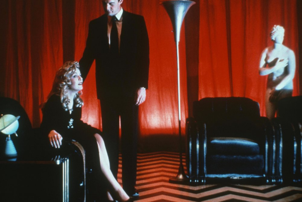 Lee and MacLachlan in Twin Peaks: Fire Walk with Me (1992)