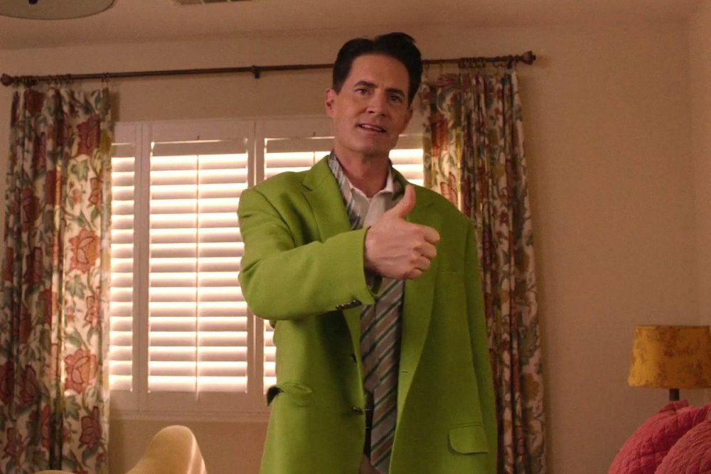 Dale Cooper, two episodes later
