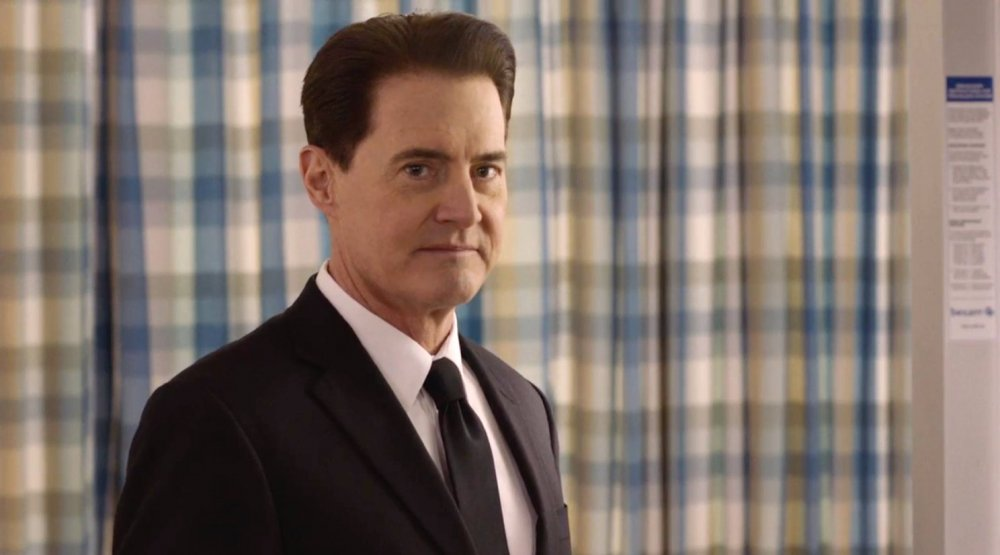 The fog lifts: Kyle McLachlan as… Agent Dale Cooper