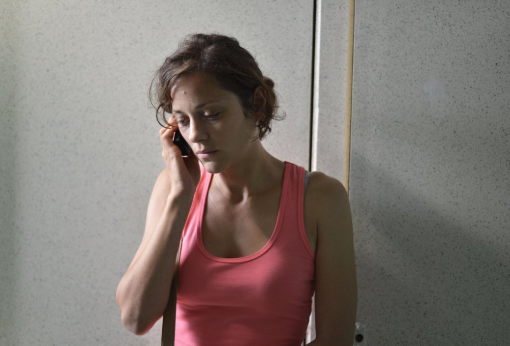 Marion Cotillard in the Dardenne brothers' Two Days, One Night: a likely candidate for Best Actress