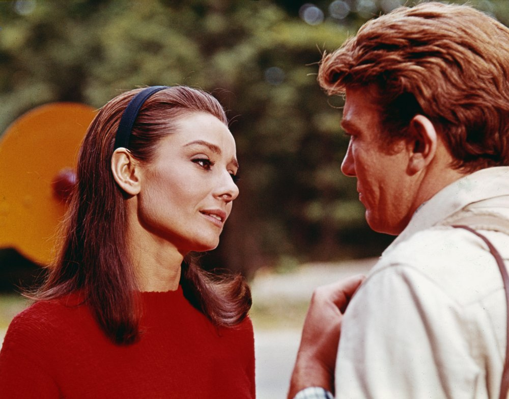 Audrey Hepburn with Albert Finney in Two for the Road (1967)