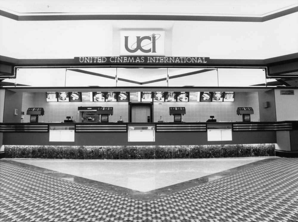 UCI, Whiteley's Shopping Centre, Bayswater, London, 1989