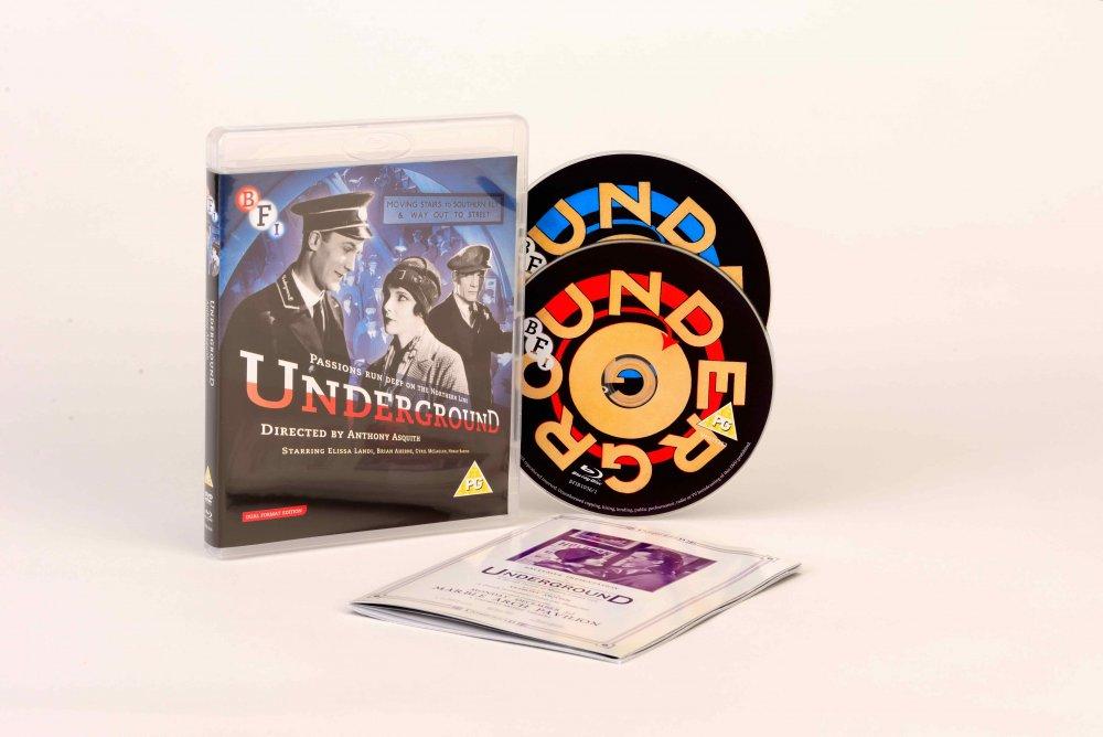 Underground (1928) BFI Blu-ray box