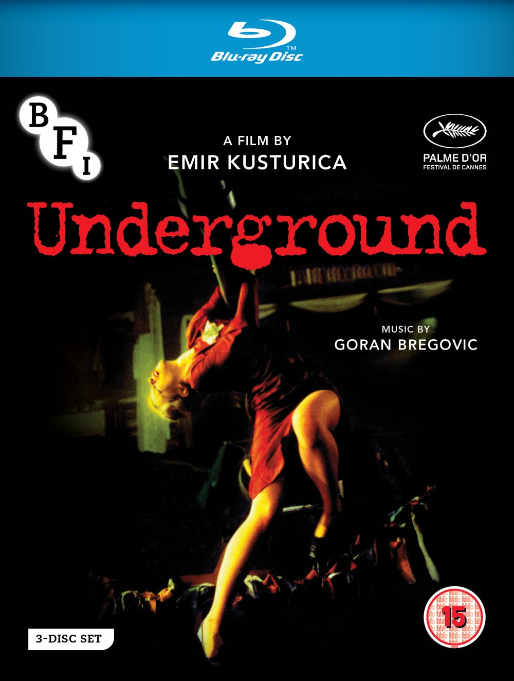 Underground Blu-ray disc packshot