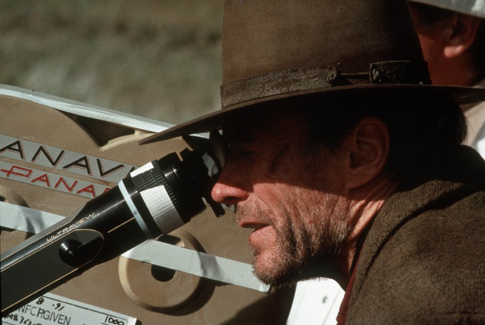 Clint Eastwood filming Unforgiven (1992)