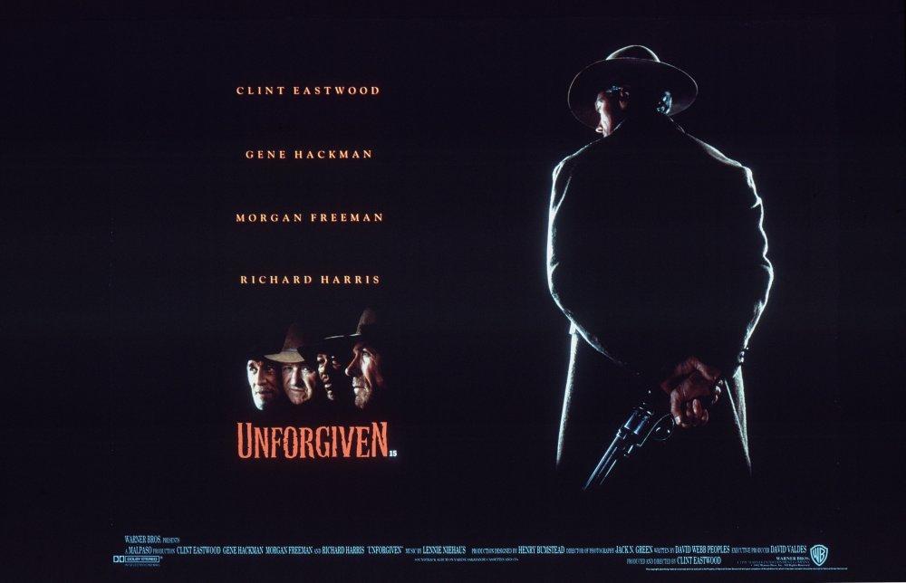Unforgiven (1992) poster