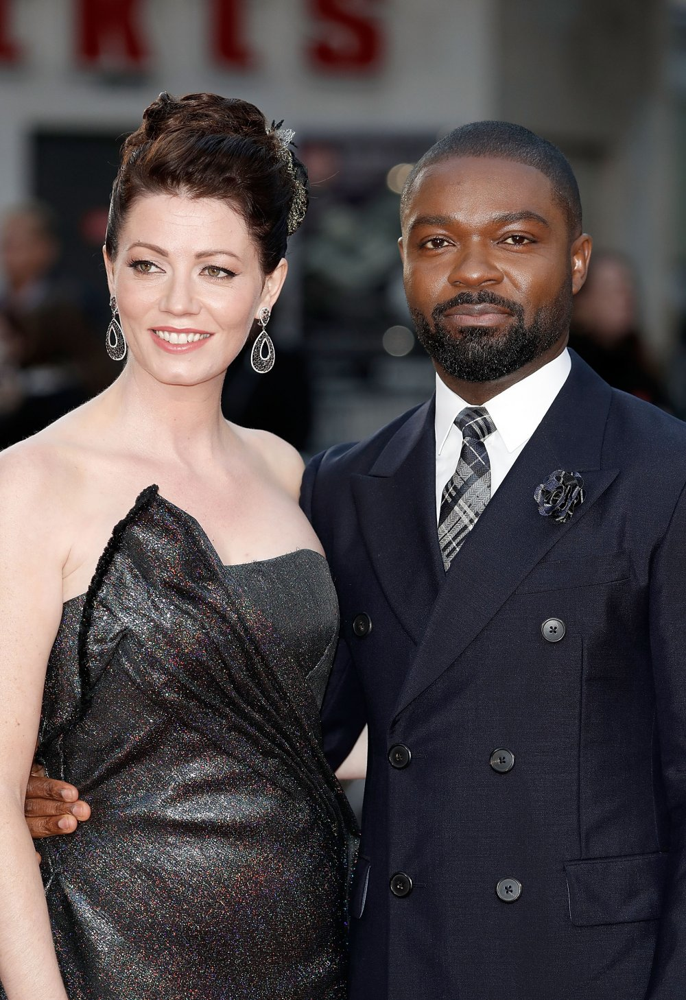 Jessica Oyelowo and David Oyelowo attend the A United Kingdom Opening Night Gala screening during the 60th BFI London Film Festival