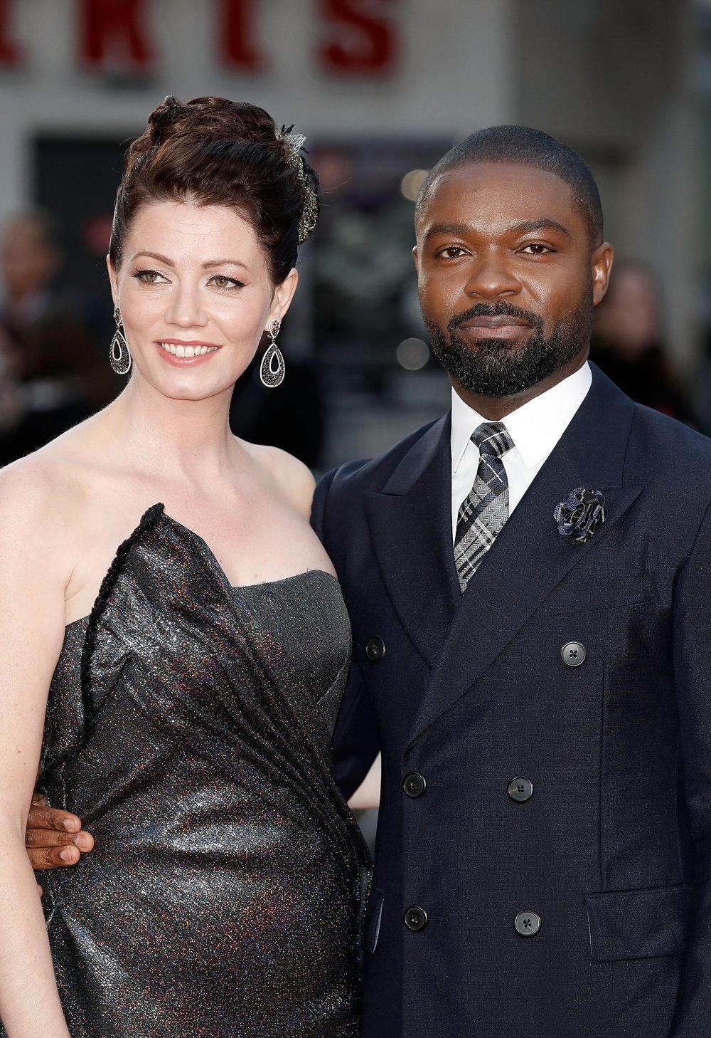 Jessica Oyelowo and David Oyelowo attend the A United Kingdom Opening Night Gala screening during the 60th BFI London Film Festival