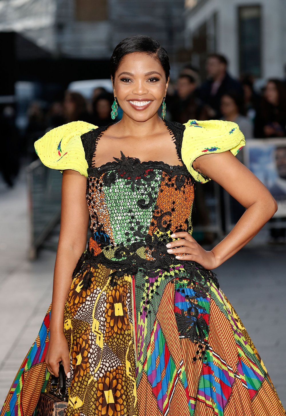 Terry Pheto attends the A United Kingdom Opening Night Gala screening during the 60th BFI London Film Festival