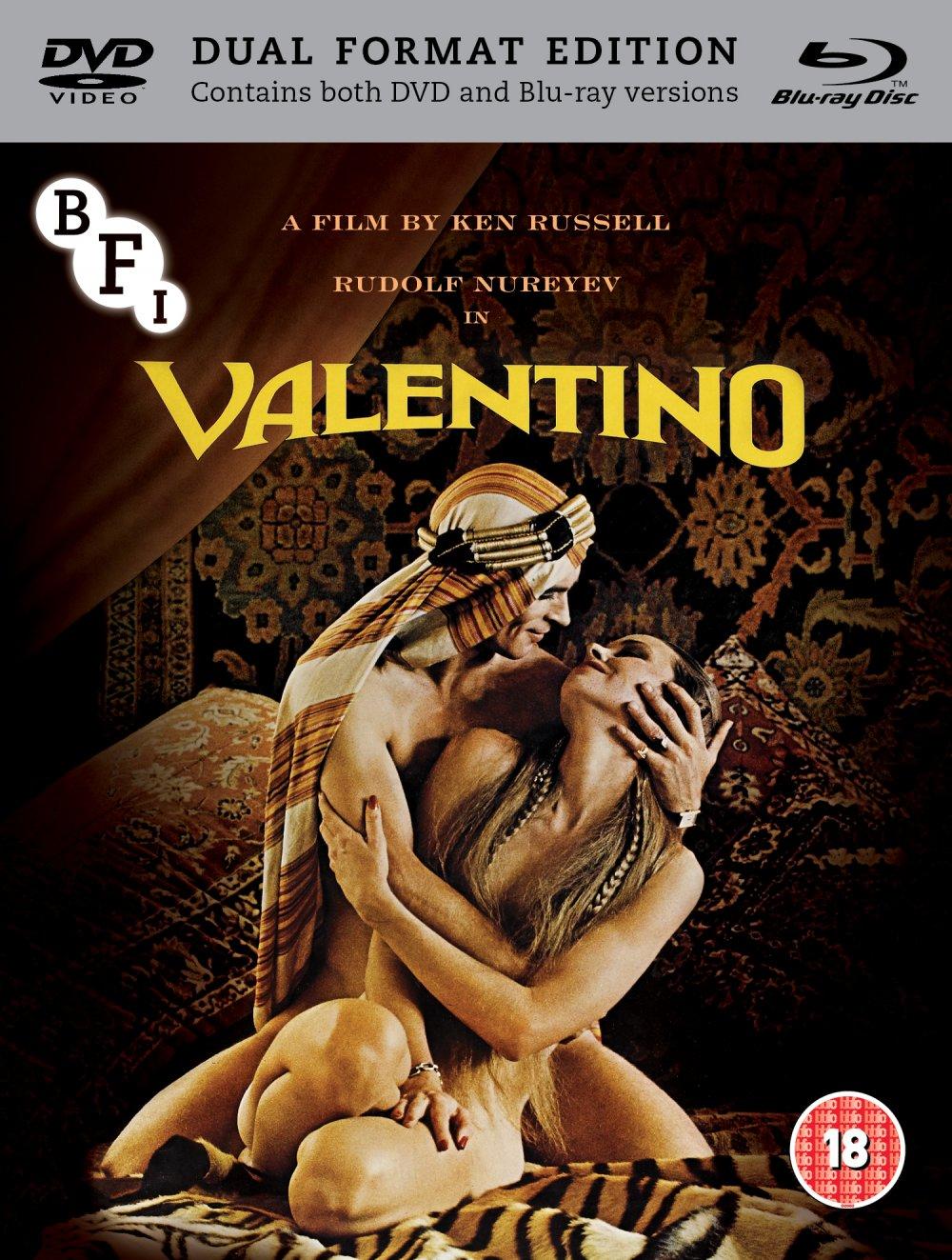 Valentino Blu-ray packshot