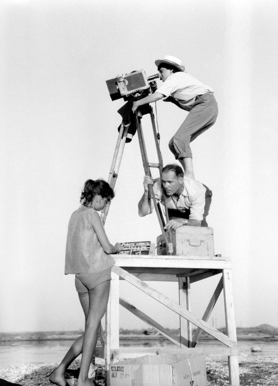 Agnès Varda directing La Pointe courte (1955)