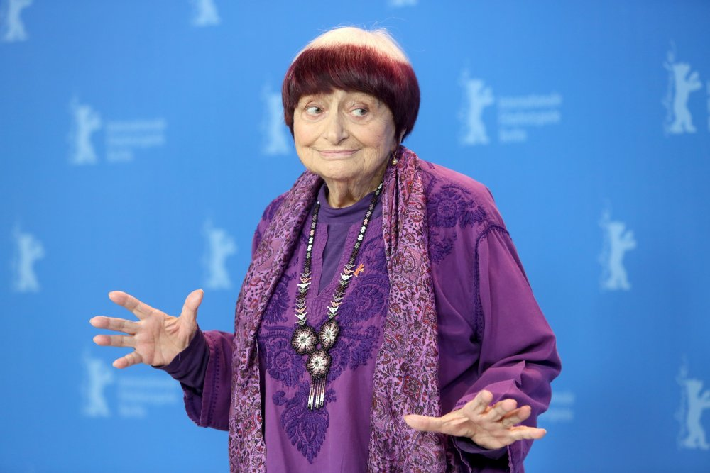 Agnès Varda presenting Varda by Agnès at the 2019 Berlinale