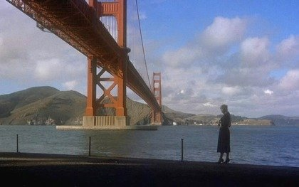 Judy/Madeleine/Carlotta at Fort Point in Vertigo (1958)