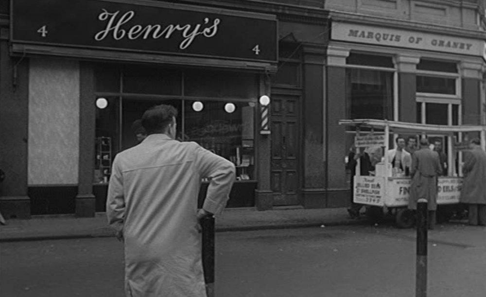 Henry's barber in Victim…