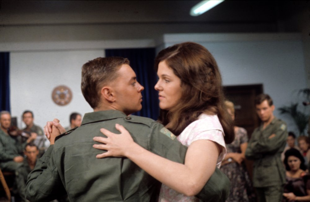 Hywel Bennett and Lynn Redgrave in The Virgin Soldiers (1969)