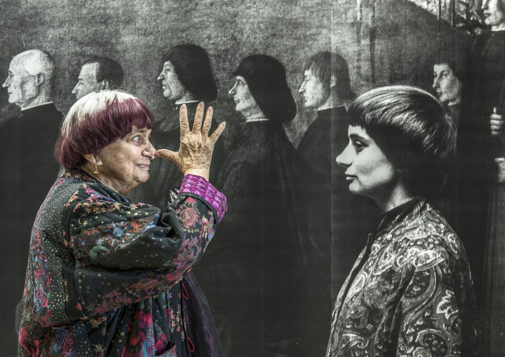 Varda in Faces Places (2017)