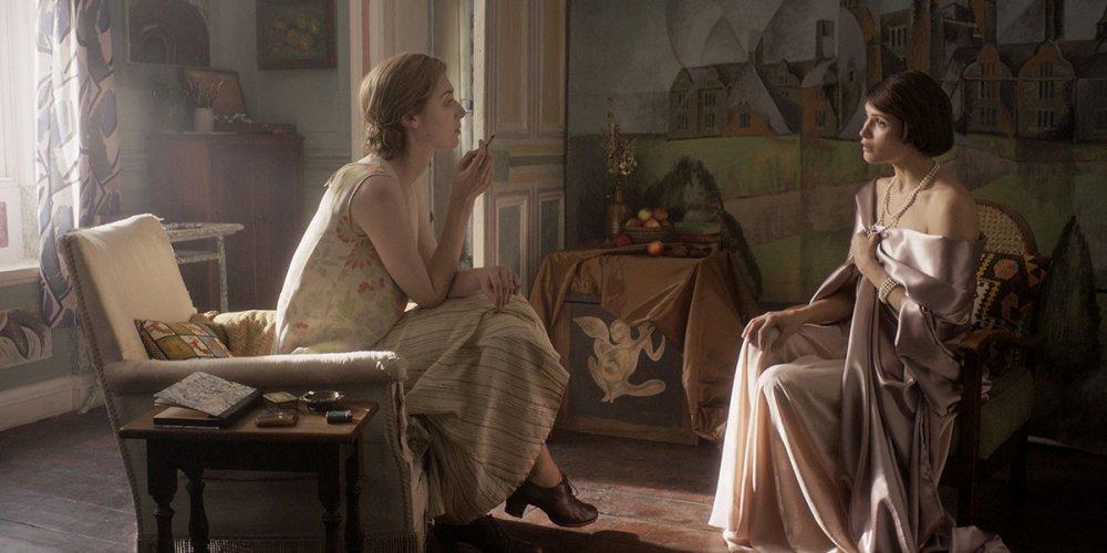 "Elizabeth Debicki as Virginia Woolf and Gemma Arterton as Vita Sackville-West in Vita <span class=""amp"">&</span> Virginia"
