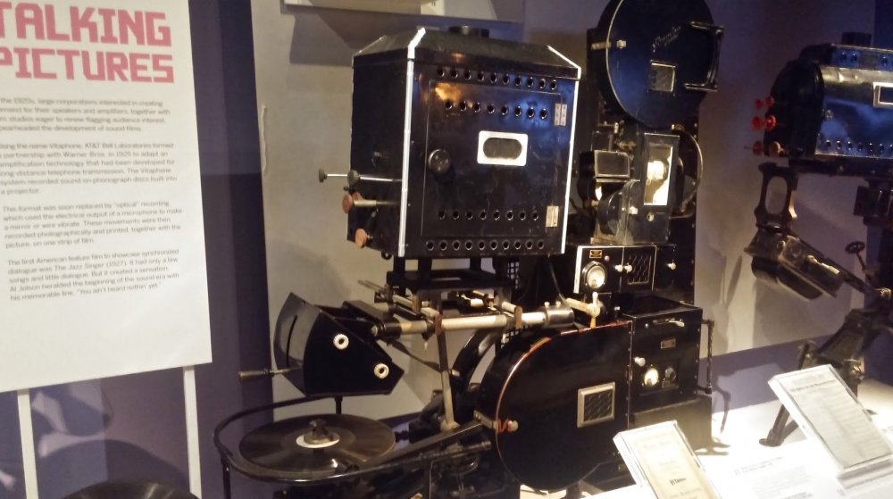 An example of a Vitaphone projector held in the Museum of Moving Image, NY
