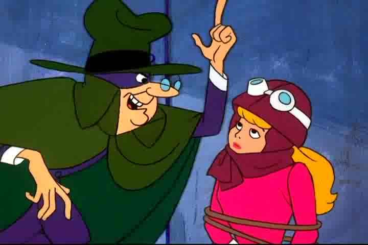 The Hooded Claw meets Penelope Pitstop