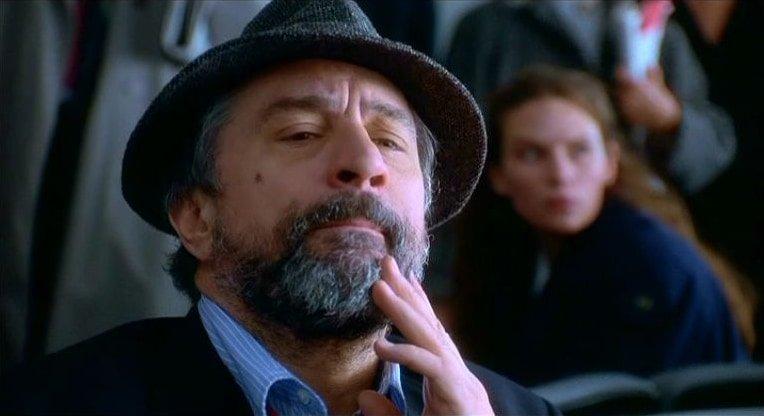 De Niro as spin doctor Conrad Brean in Wag the Dog (1996)