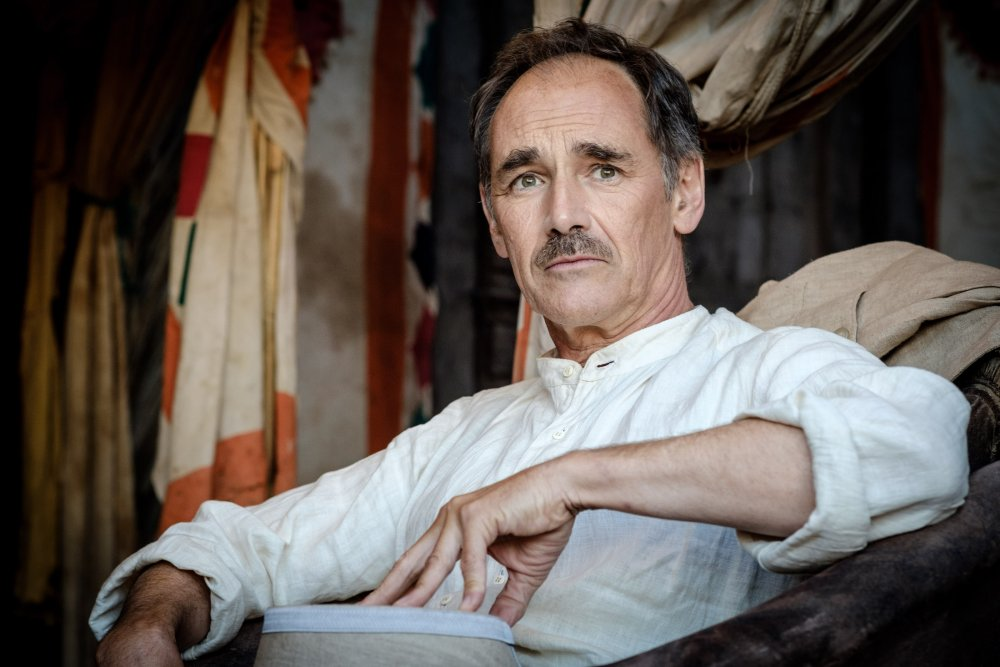 Mark Rylance as The Magistrate in Waiting for the Barbarians