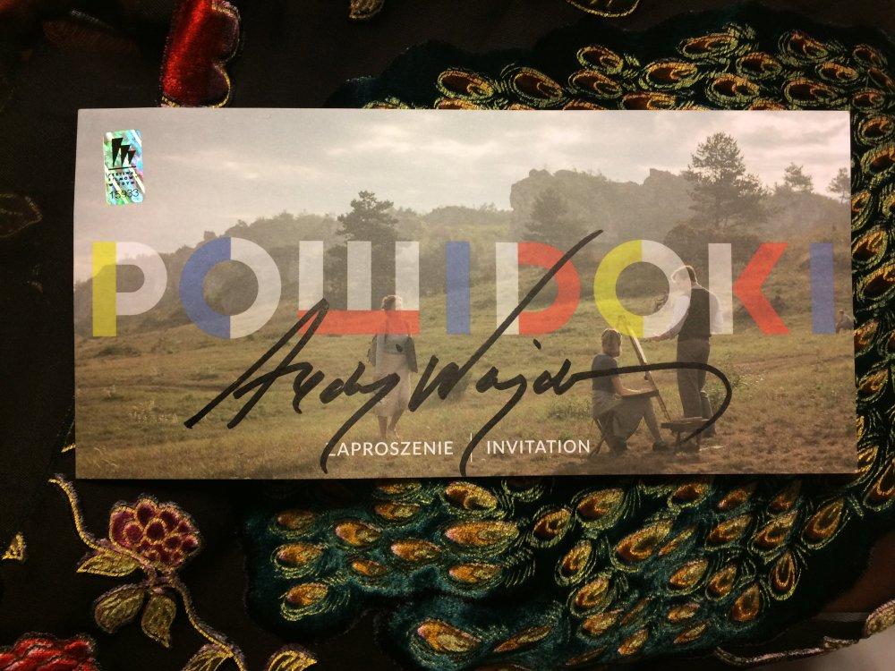 Andrzej Wajda's signature