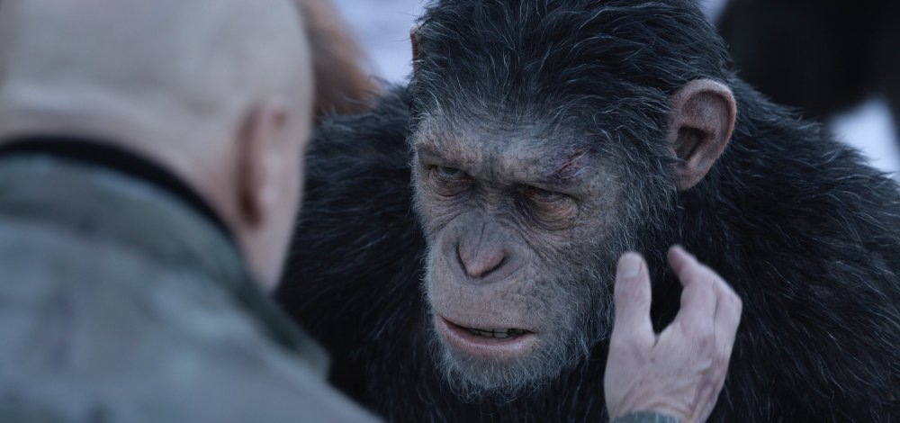 Andy Serkis's simian hero Caesar