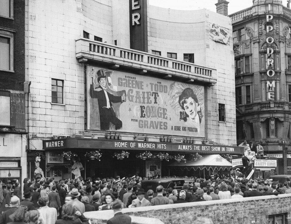 Warner West End (now Vue Leicester Square), London, 1946