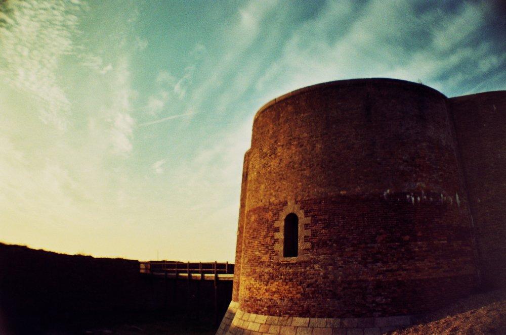The Martello tower in Aldeburgh