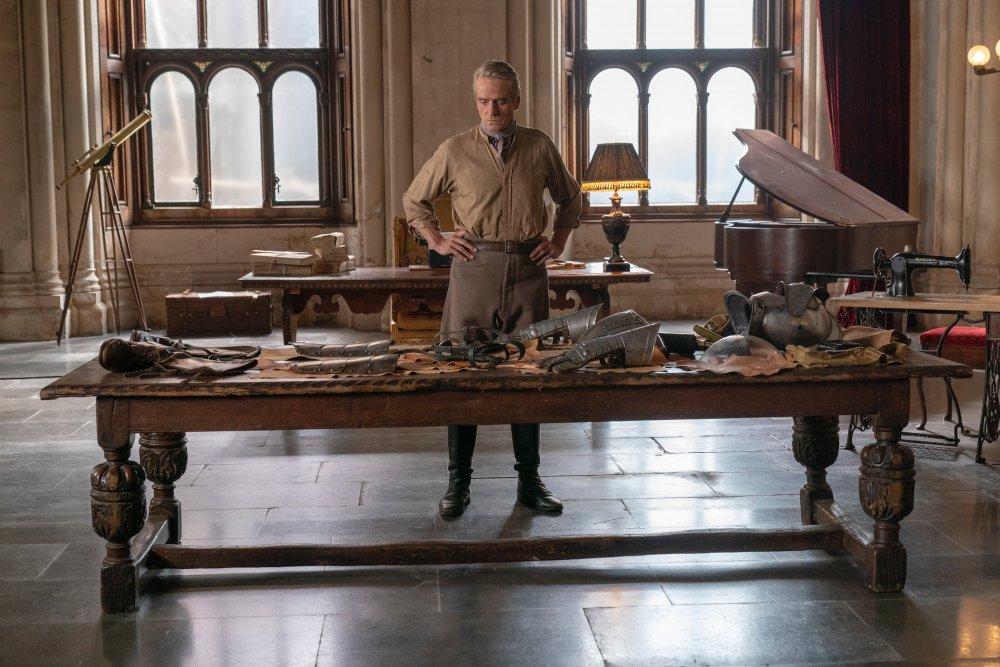 Jeremy Irons as Adrian Veidt