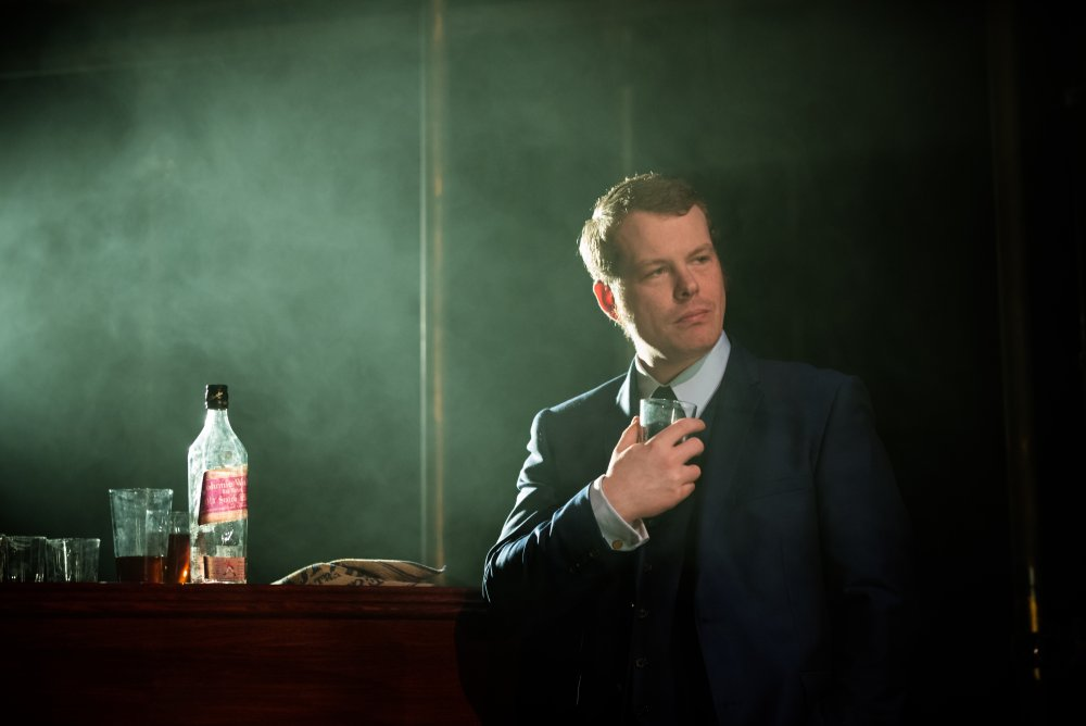 Kevin Wathen as Jack Carter in the Northern Stage 's 2015-16 production of Get Carter