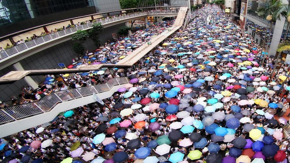 Hong Kong's 2014 'Umbrella Revolution' as documented in Evans Chen's We Have Boots (2020)