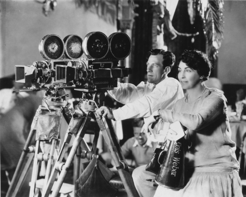 Prolific silent film actress, screenwriter, producer and director Lois Weber, described by historian Anthony Slide as, 'alongside D.W. Griffith… the American cinema's first genuine auteur'